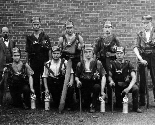 Ratownicy w roku 1932