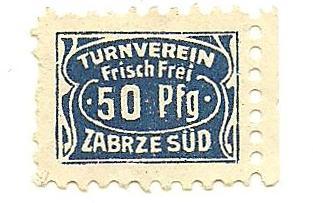 Znaczek opłaty 50Pfg (Fenigów)