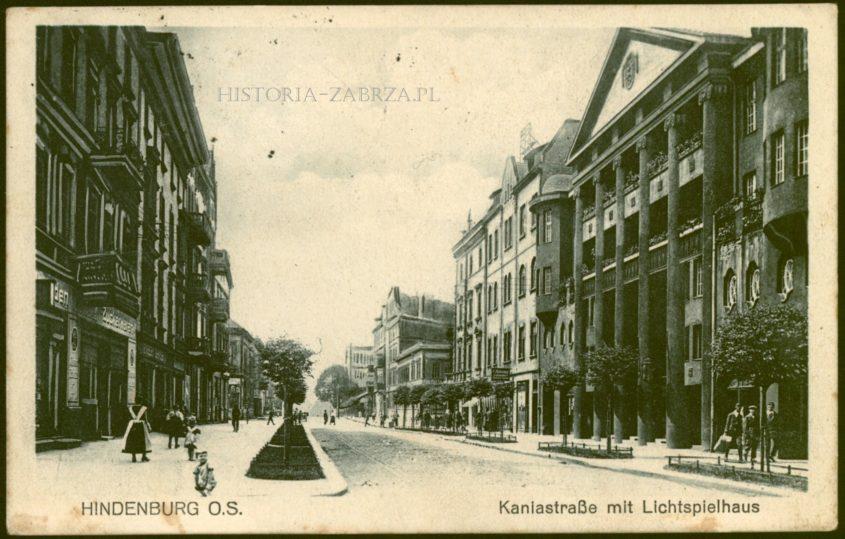 Kino  Lichtspielhaus Zabrze Hindenburg Poralla