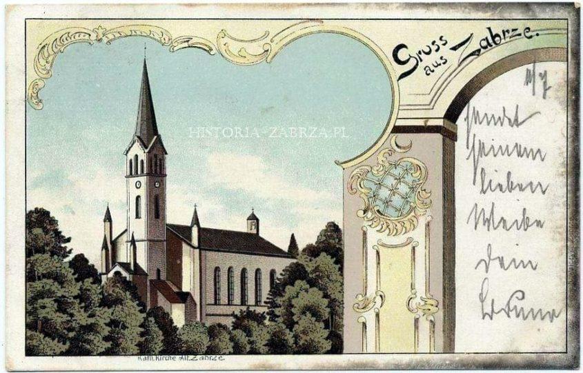 kościół Andrzeja zabrze Andreas Kirche Hindenburg