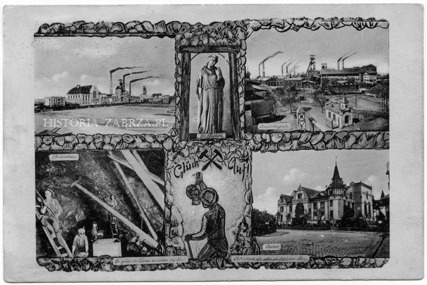 Concordia Mukulczyce abwehrgrube Donnersmarck Zabrze Hindenburg