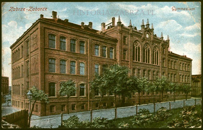 III liceum Gimnazjum Królowej Luizy Königin Luise Gymnasium in Zabrze Hindenburg O S Zaborze