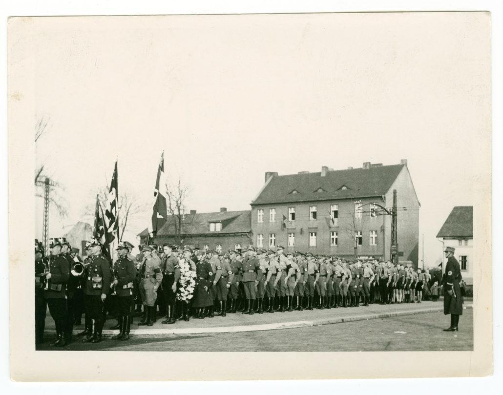 Zabrze, NSDAP, plac Słowiański