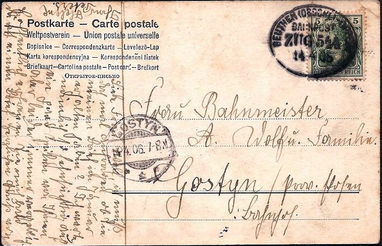 Borsigwerk Max Czech Zabrze  Biskupitz