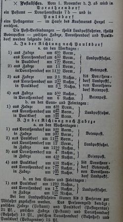 Zabrzer Anzeiger nr 249 (Dorotheendorf post zabrze poczta hindenburg