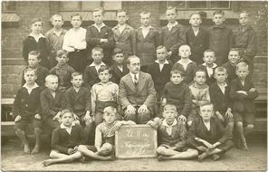Zabrzr Kończyce szkoła 1931