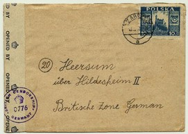 Zabrze Dorota poczta Hindenburg Dorotheendorf post