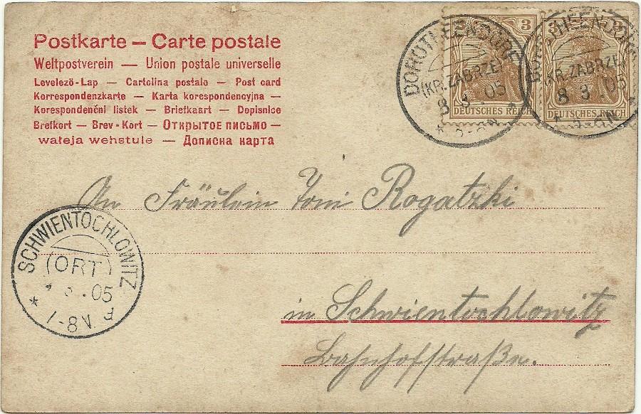 Dorotheendorf Post poczta Zabrze Hindenburg