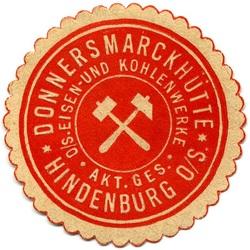 Donnersmarckhütte, Hindenburg O/S Eisen und Kohlenwerke Akt.Ges.