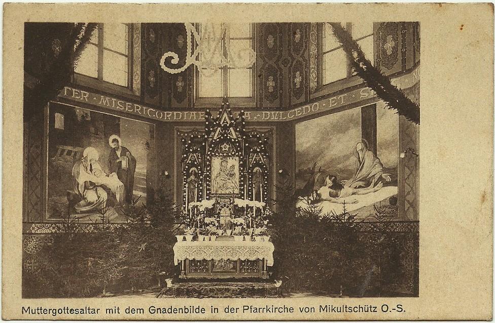 kościół św. Wawrzyńca w Mikulczycach Mikultschütz